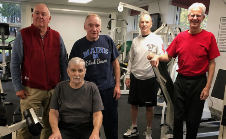 Former athletes who survived cancer build teamwork at Maine