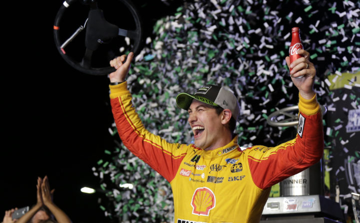 Joey Logano spoils Big 3 party to win NASCAR title