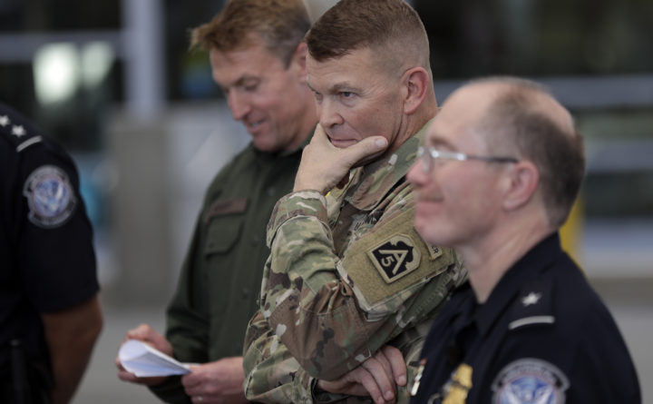 Pentagon to start drawdown of troops at southern border