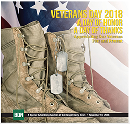 BDN 2018 Veterans Day special section