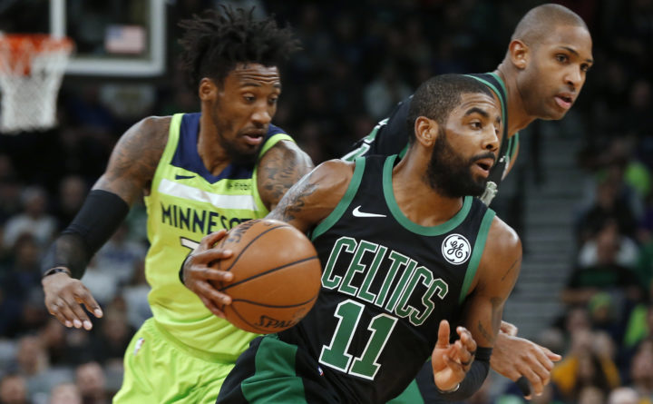Kyrie Irving urges Gordon Hayward to be aggressive