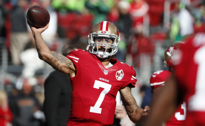 Kaepernick would reportedly sign with any National Football League team -- even the Redskins