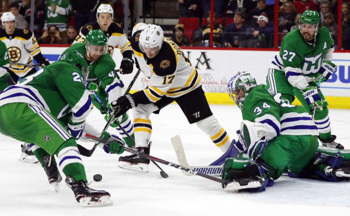 Aho leads Carolina past Bruins on Whalers Night — Boston Bruins ... 4723aa01a