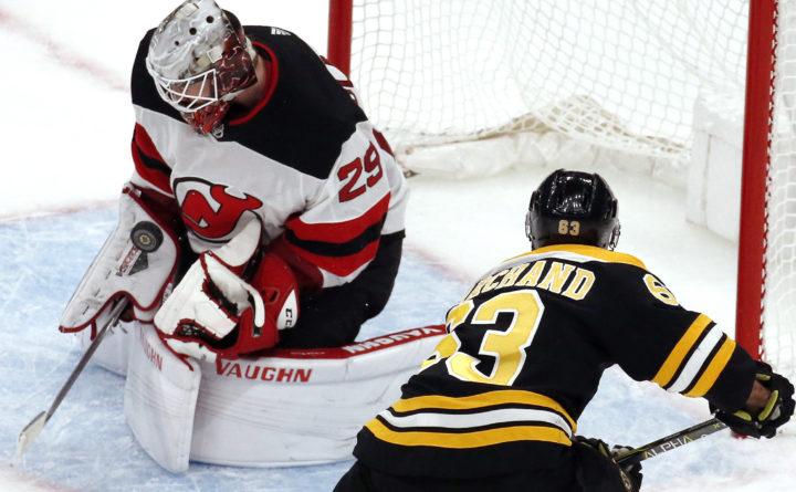 c28145a51 New Jersey Devils beat Boston Bruins 5-2 — Boston Bruins — Bangor ...