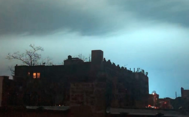 New York City Skyline Turns Blue What Happened? The Internet Goes Crazy