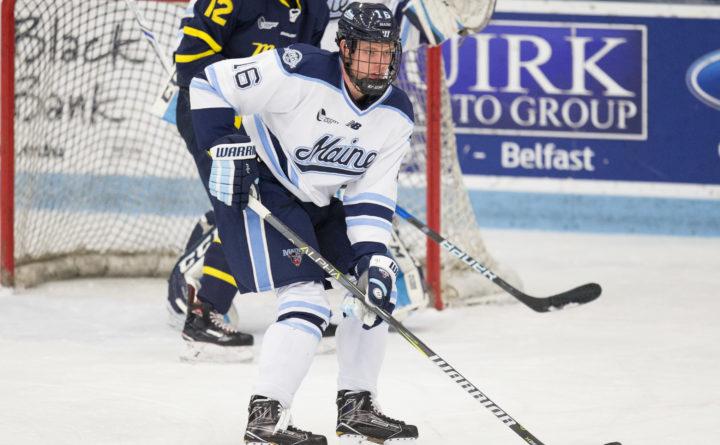 princeton cruises past umaine men s hockey team to complete series
