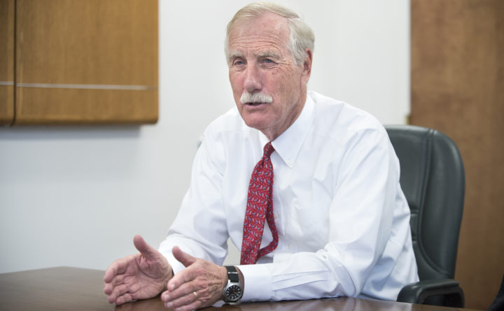 Angus King to begin radiation treatment for residual cancer