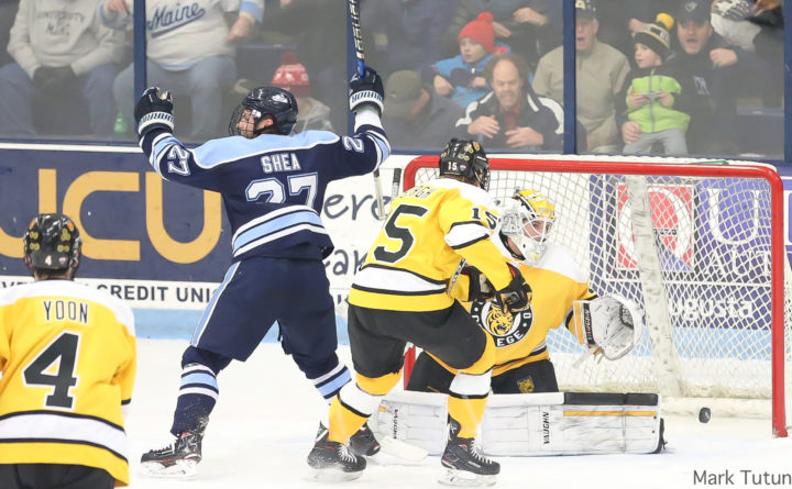 Hockey East: UMaine Men's Hockey Team Seeks To Re-establish The Advantage Of Playing On Home Ice