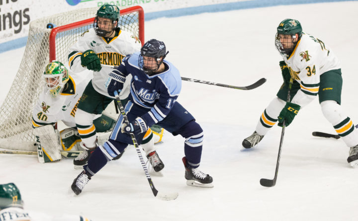 Hockey East: UMaine Men's Hockey Team Hosts Rival New Hampshire In Monday Matinee