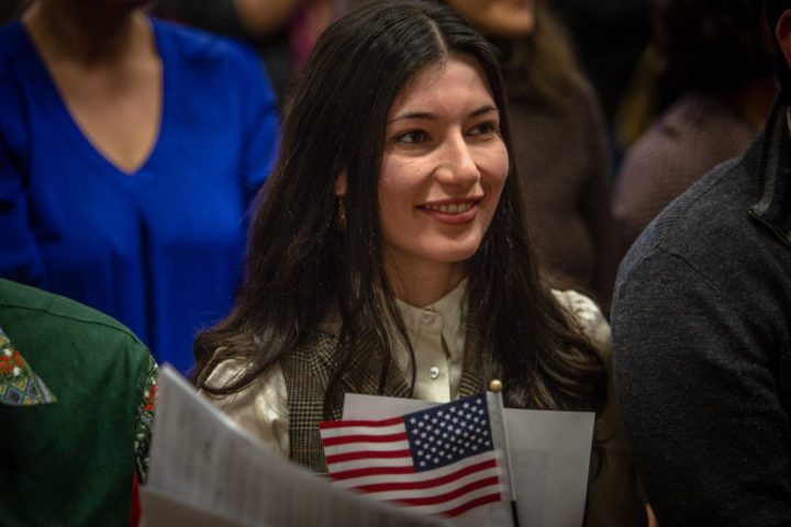 46 Mainers sworn in as new US citizens — State — Bangor