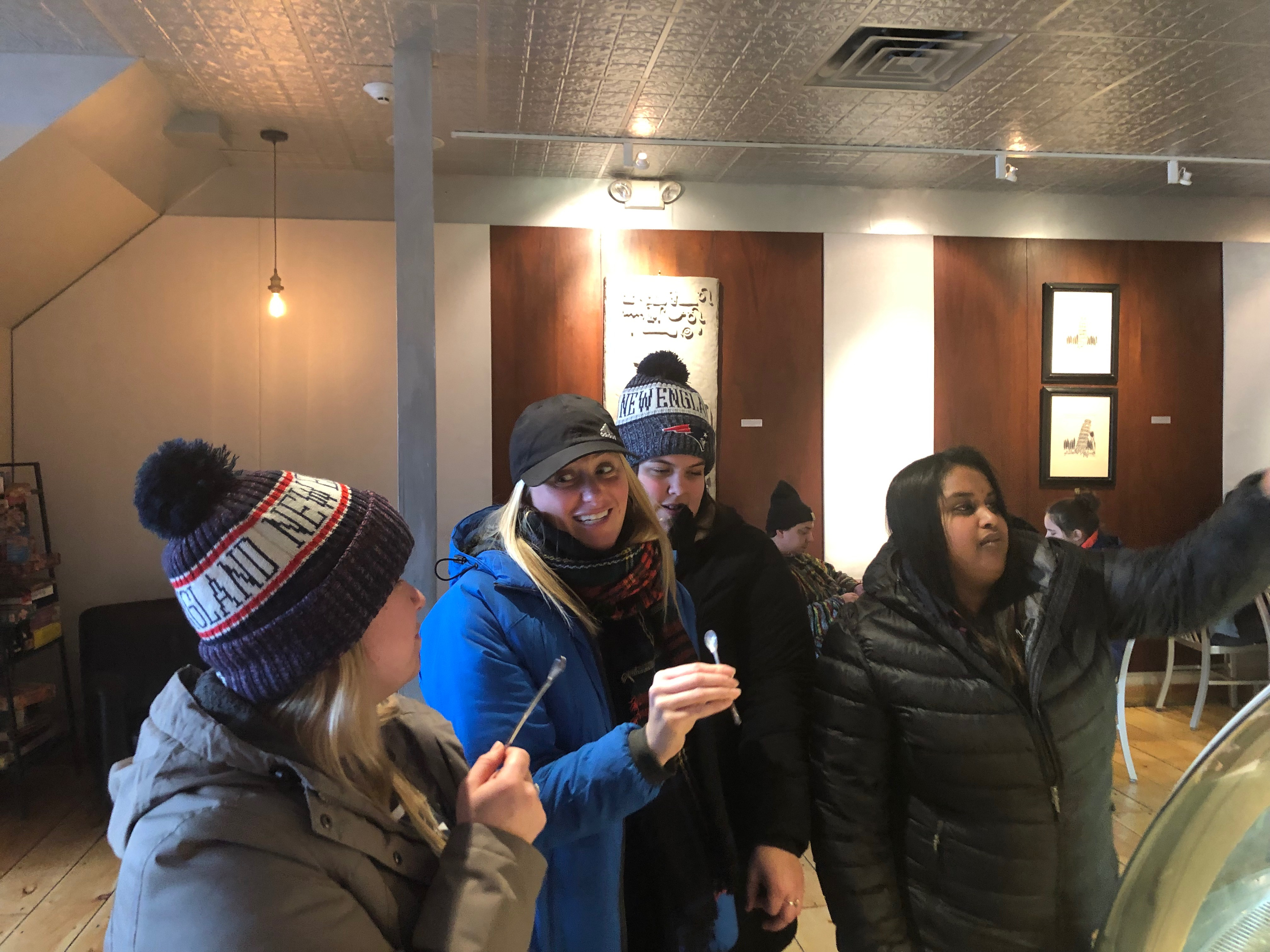 f0d06efab18 Mainers indulge in Patriots-themed gelato before the Super Bowl ...