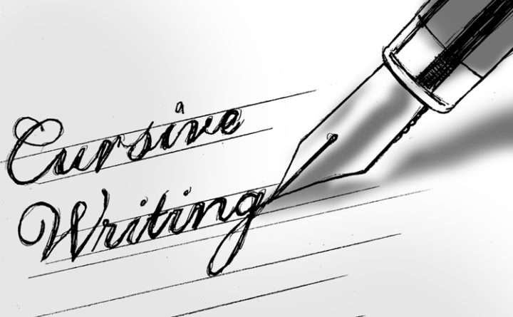 Why cursive writing matters — Contributors — Bangor Daily ...