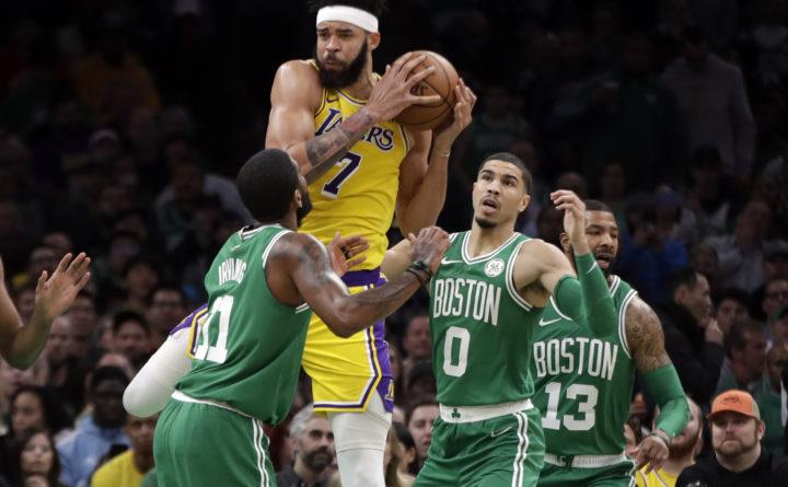 Rondo s jumper at buzzer lifts Lakers over Celtics 129-128 — Boston ... 56be19ea3