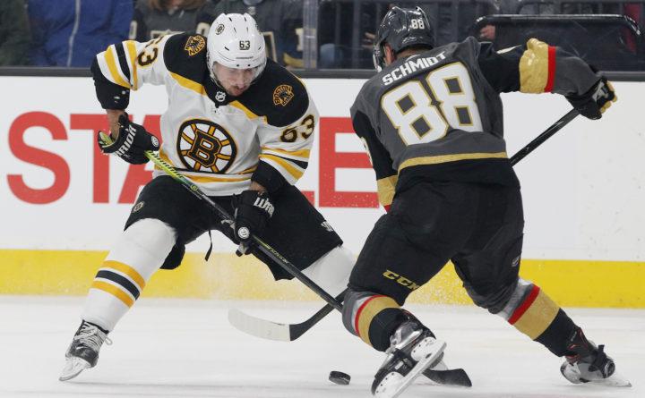 Bruins Top The Golden Knights In Overtime Boston Bruins Bangor