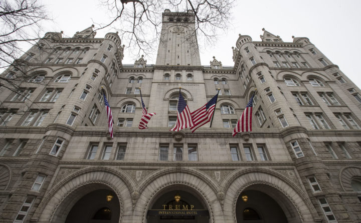 Mobile execs spent $195000 at Trump hotel after announcing Sprint merger