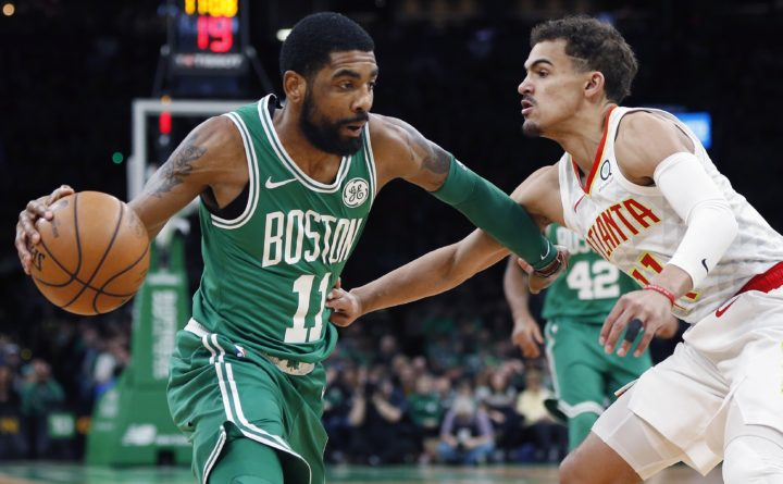 Irving, Brown help Celtics hold off Hawks