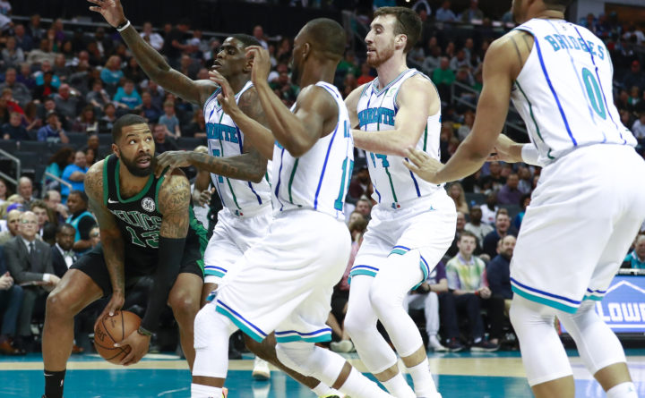 c62cf3309 Hornets rally in the 4th quarter to beat the Celtics — Boston ...