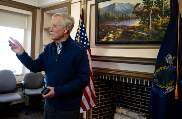 King says questions about national monument's status settled after meeting with Trump's acting interior secretary