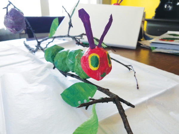 How To Make Paper Mache Caterpillars How To Bangor Daily