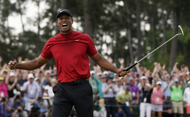 3c508c4eeeb53 Tiger Woods completes career comeback with fifth Masters victory ...