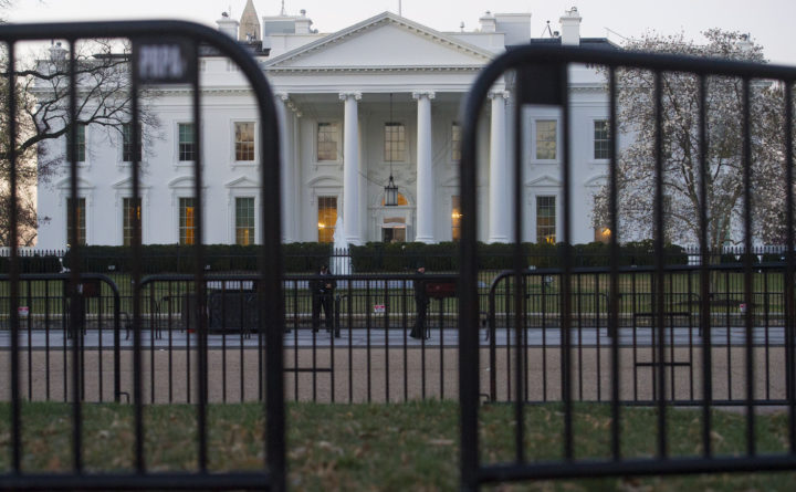 Maine native suspended from White House job says 25 security