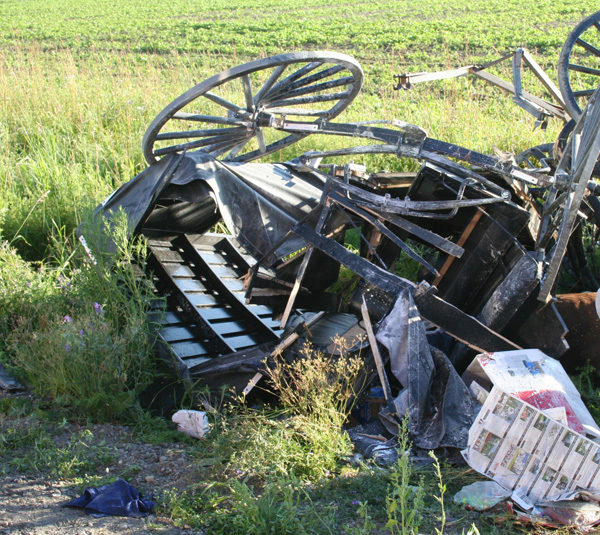 New law to prevent collisions with Amish country buggies