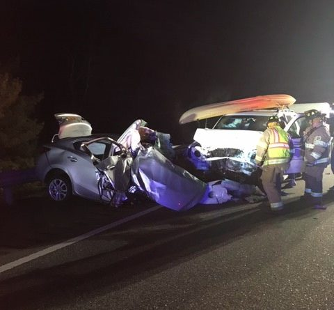 1 killed in wrong way crash on I-95 in Augusta — Augusta — Bangor
