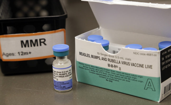 USA  measles cases increase to 25-year high