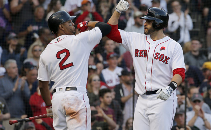 Boston Red Sox beat Cleveland — Boston Red Sox — Bangor Daily News