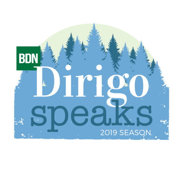Dirigo Speaks season logo