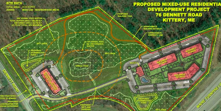 Developers plan to build 315 'millennial-driven' apartments in Maine on old orchard beach map, merrimack college map, university of new hampshire map, perkins cove map, maine map, marginal way map, boston map, water country map, york's wild kingdom map,