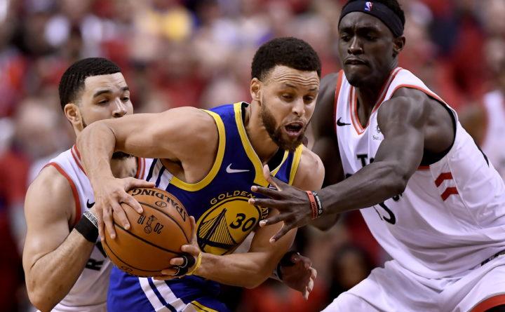 Warriors beat Raptors to tie NBA Finals series — Professional Sports