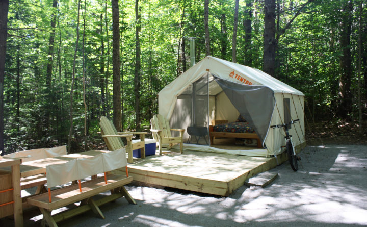 Maine State Parks >> New York Company Brings Glamping To Maine State Parks
