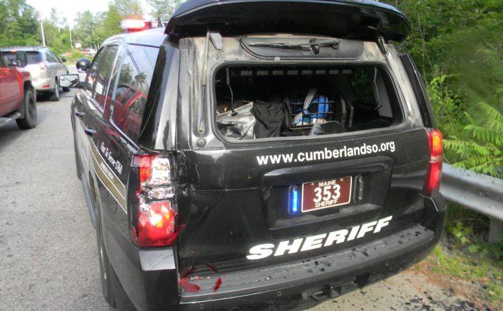 Sheriffs Office Cruiser Driven — Tehno