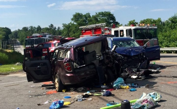9-year-old girl critically injured in Gorham crash declared