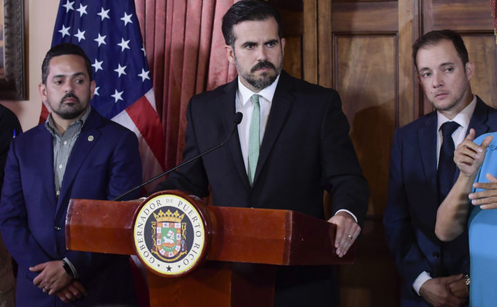 Governor Of Puerto Rico Says He Will Resign Aug 2 World Bangor