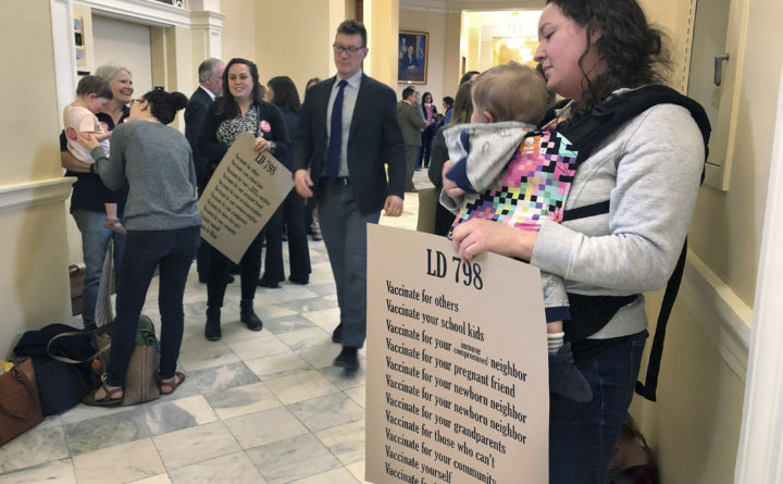 Maine's new vaccination law balances democracy and public