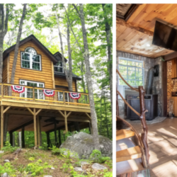 You could win a Maine treehouse resort and $25,000 in this