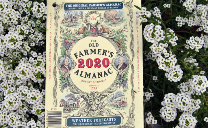 The Old Farmer's Almanac says to prepare for a slushy winter