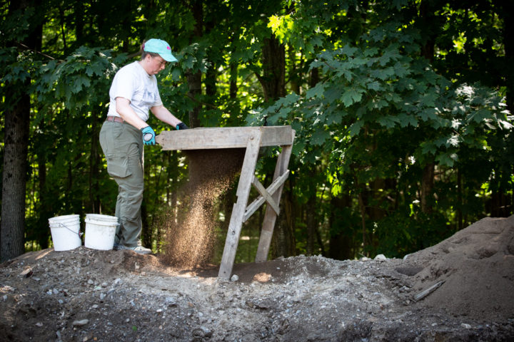 Archaeologists race to uncover colonial fort buried beneath a Maine road before it's too late