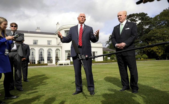 Mike Pence honoured & privileged to return to Ireland