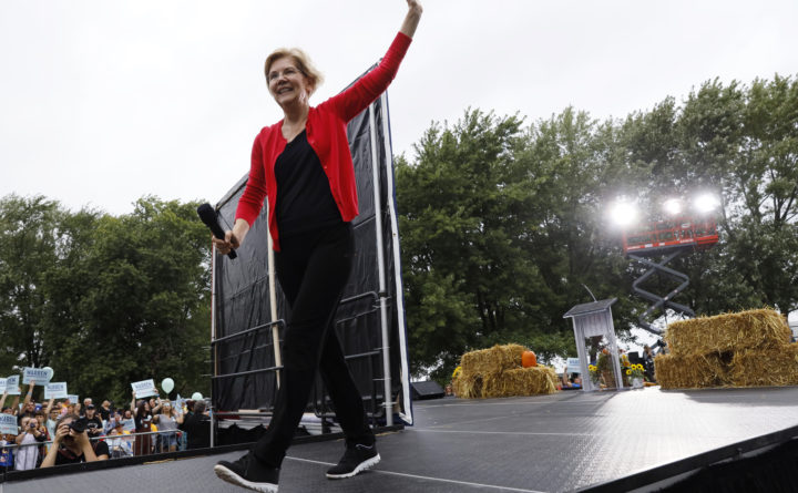 U.S. Senator Warren's liberal plans fuel rise in Democratic presidential field