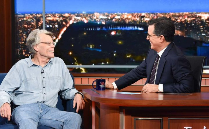 Stephen King criticizes Susan Collins on 'The Late Show'