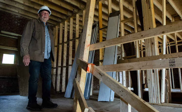 He bought this 169-year-old seminary from Bucksport for $1. Now, renovations are underway.