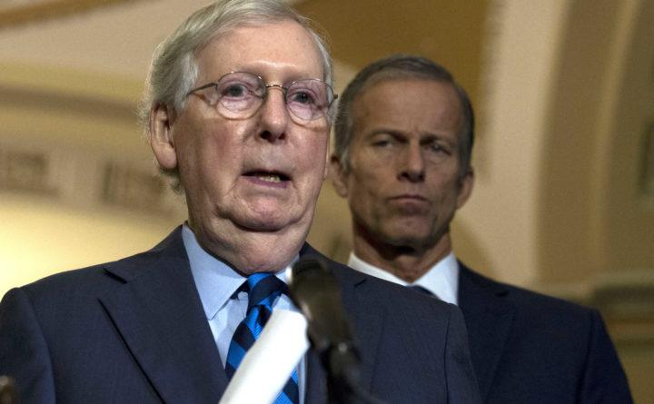 Gop Christmas Message.Prepare For Impeachment Mitch Mcconnell Tells Gop Senators