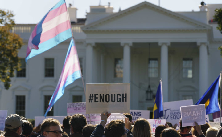 Out MOV holds candlelight vigil for Transgender Remembrance Day