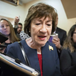 Susan Collins will meet Trump for lunch, reportedly with Mitt Romney