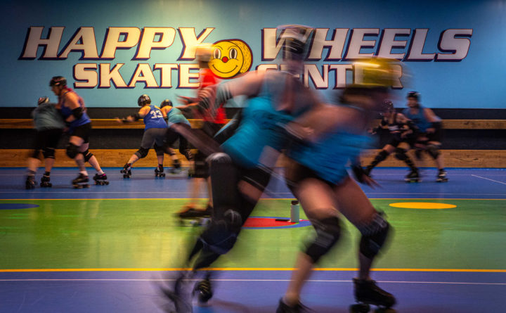 The end of Happy Wheels leaves Maine's biggest roller derby team without a home
