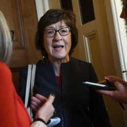 Impeachment lands Susan Collins in familiar spot: crosshairs