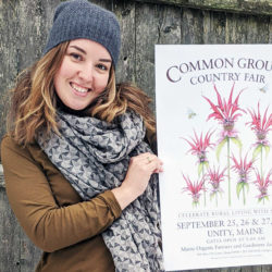 Winning poster design for 2020 Common Ground Country Fair highlights native flowers, pollinators